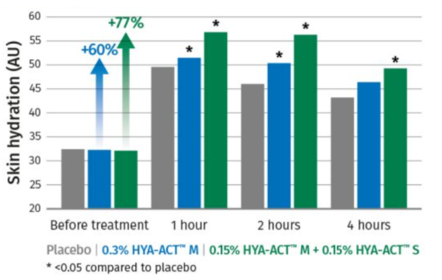 DSM HYA-ACT S Efficacy Test : Skin Hydration