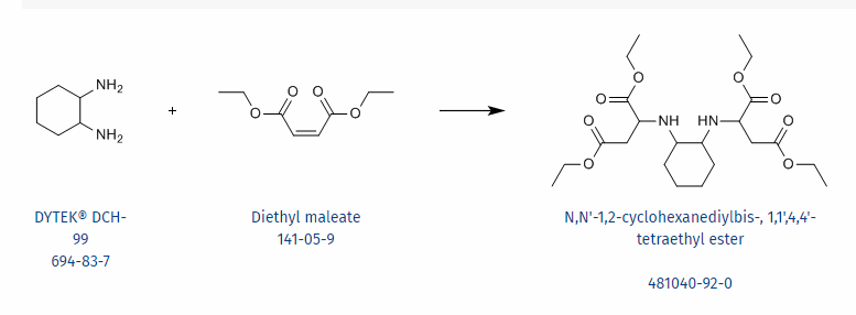 INVISTA Dytek DCH-99 Molecular Structure