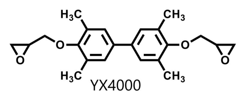 Mitsubishi Chemical JER YX4000 Molecular Structure