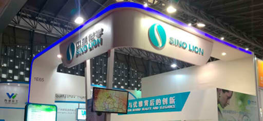 Sino Lion producer card banner