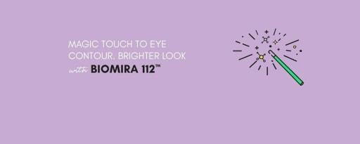 Biomira 112™ brand card banner