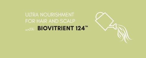 Biovitrient 124™ brand card banner
