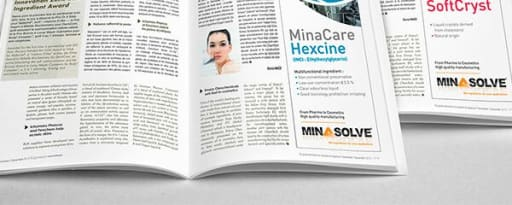 Minacare™ Pentiol Green Ecocert product card banner