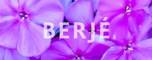 Berjé Inc producer card banner