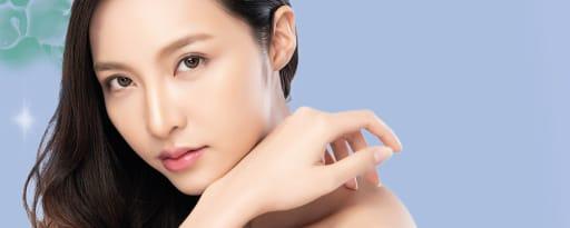 Melawhite® brand card banner
